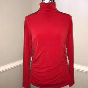 Rafaella turtle neck Blouse Sz. L